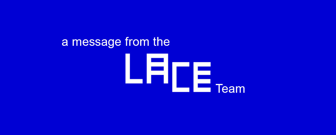 A Message from LACE Regarding COVID-19