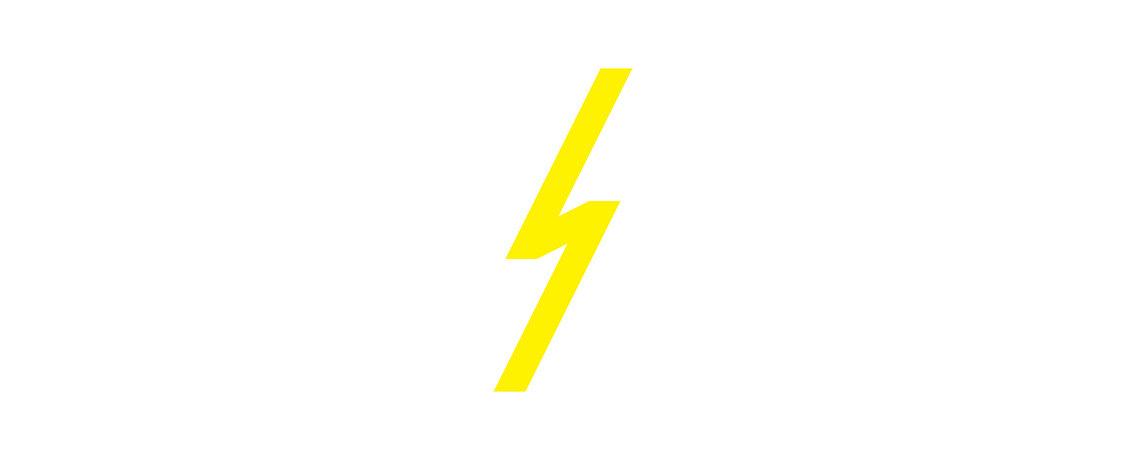 a web banner showing LACE's Lightning Fund lightning logo on a white background