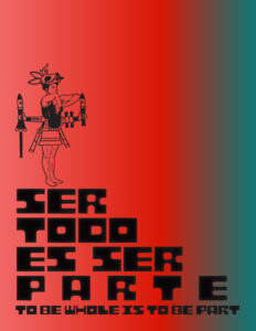 Cover of the Catalogue for the Exhibition Ser Todo Es Ser Parte