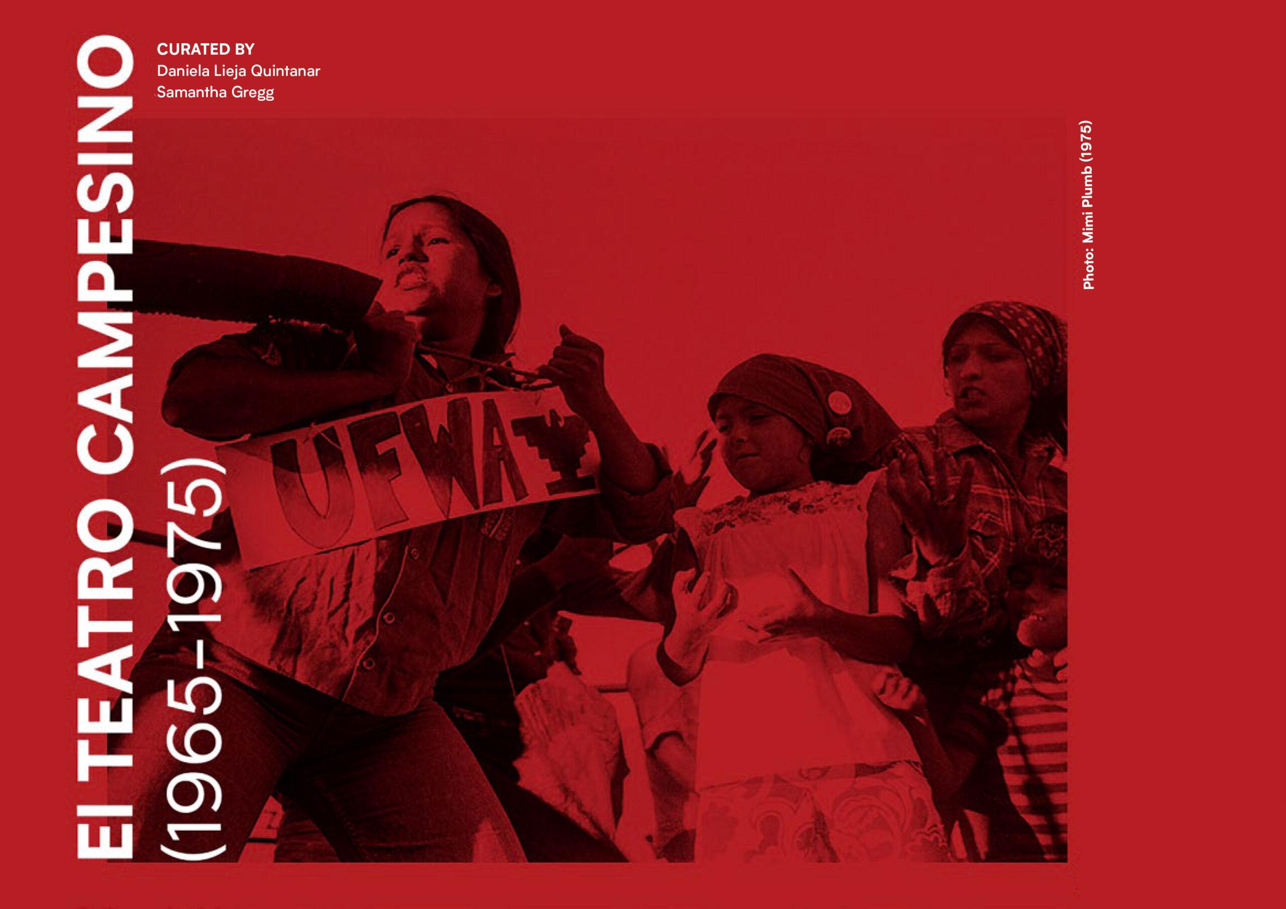 "Cover of the digital publication, ""El Teatro Campesino (1965-1975)"