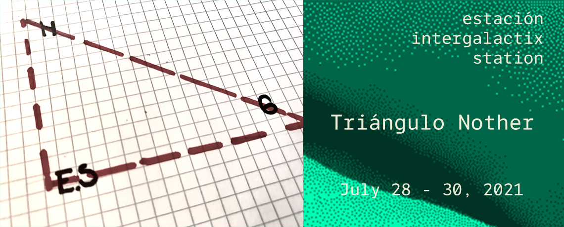 Webbanner promoting the Triangulo Nother series of performances ocurring in El Salvador from July 28-July 30